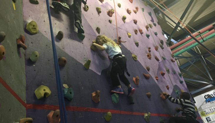 A Day At The Climbing Place