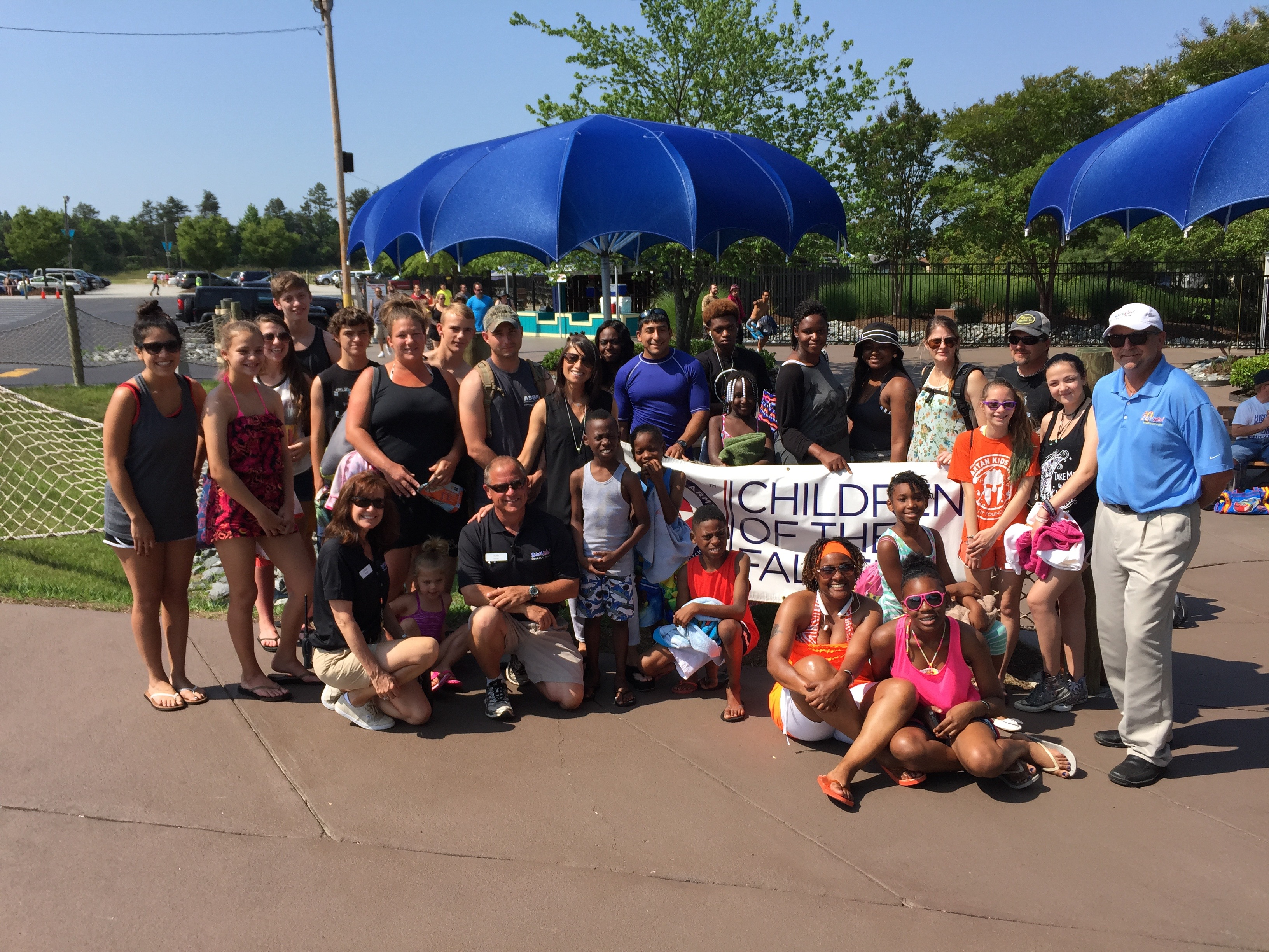 Children Of The Fallen Project Event At Wet N Wild